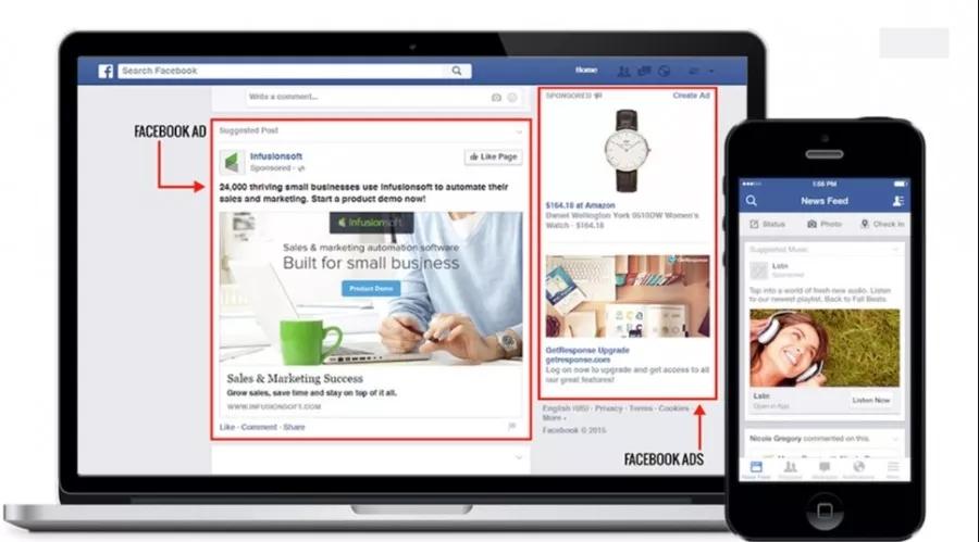 选择Facebook平台做社媒推广