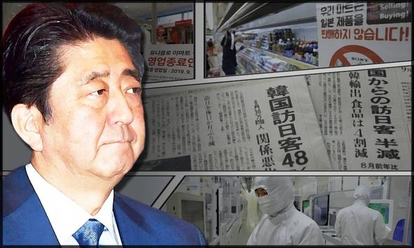 日韩贸易战相关问题,韩国相关报道